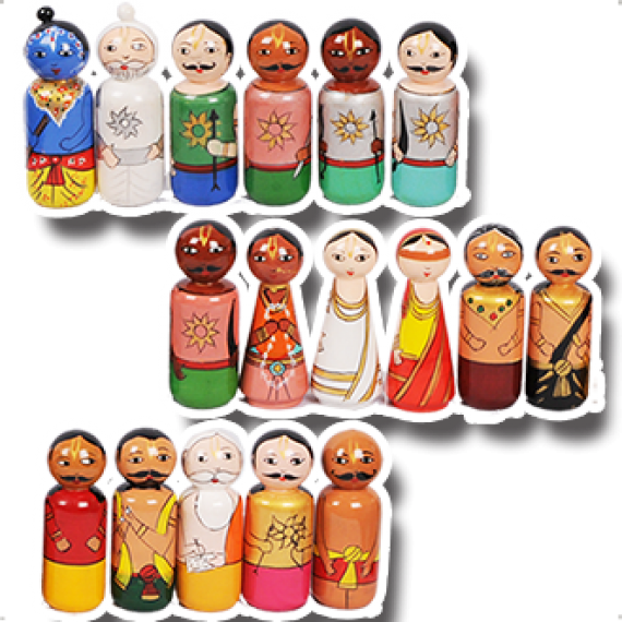 Mahabharata Wooden Toys