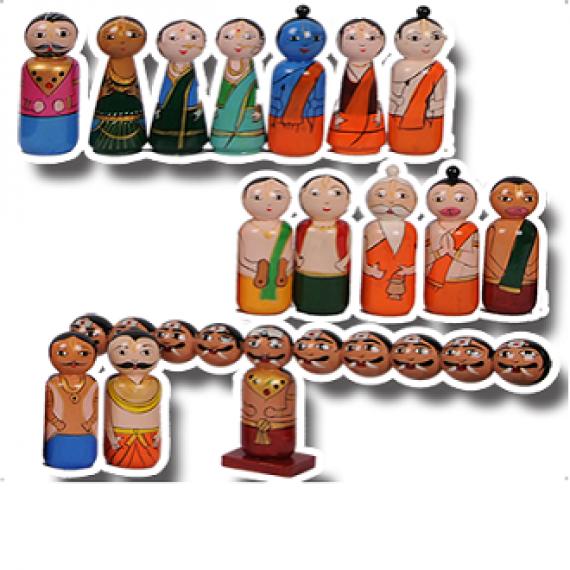 Ramayana Wooden Toys